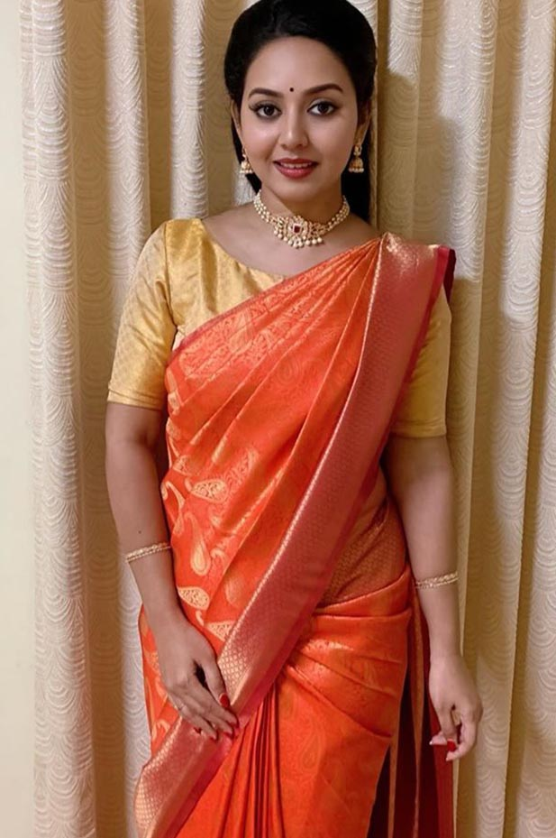 Actress Vidhya Pradeep