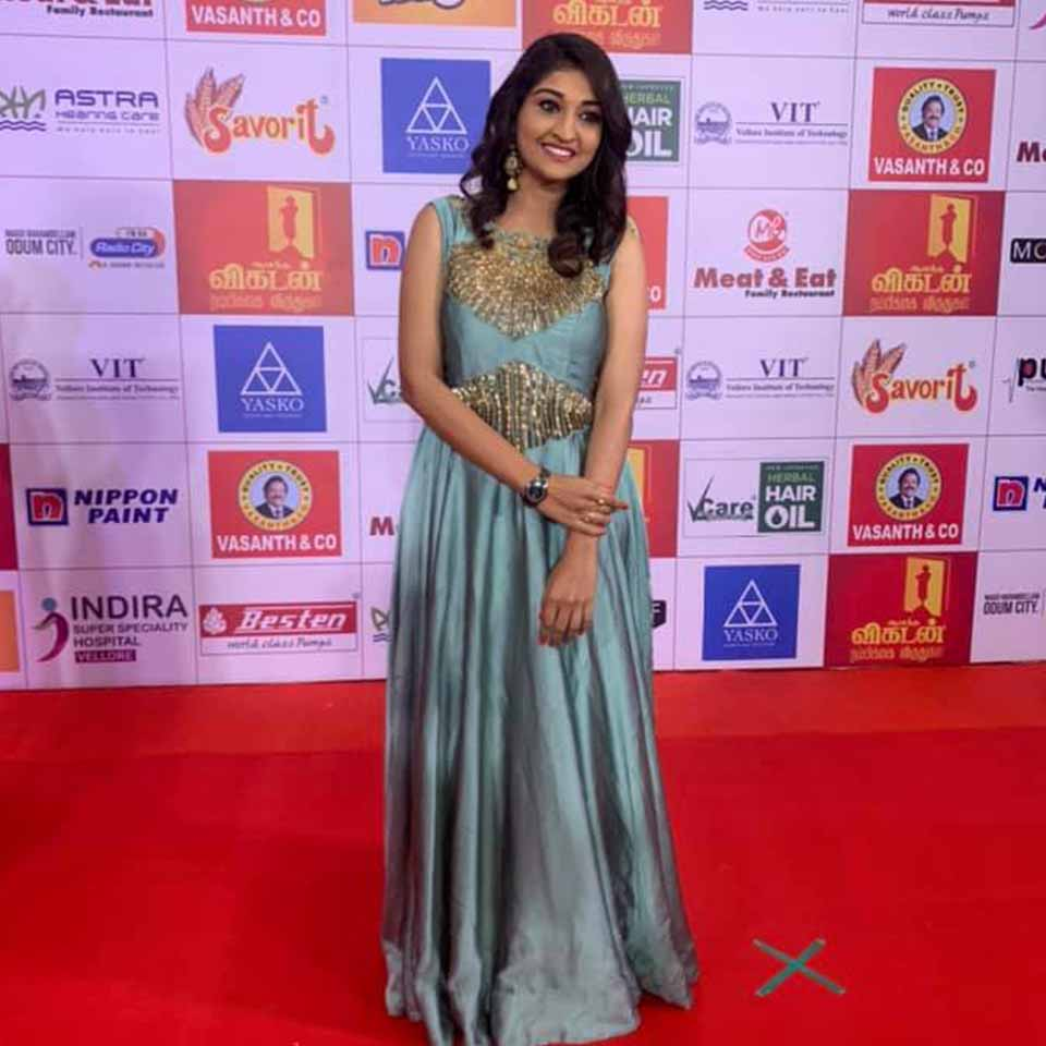 Neelima Rani at awards function