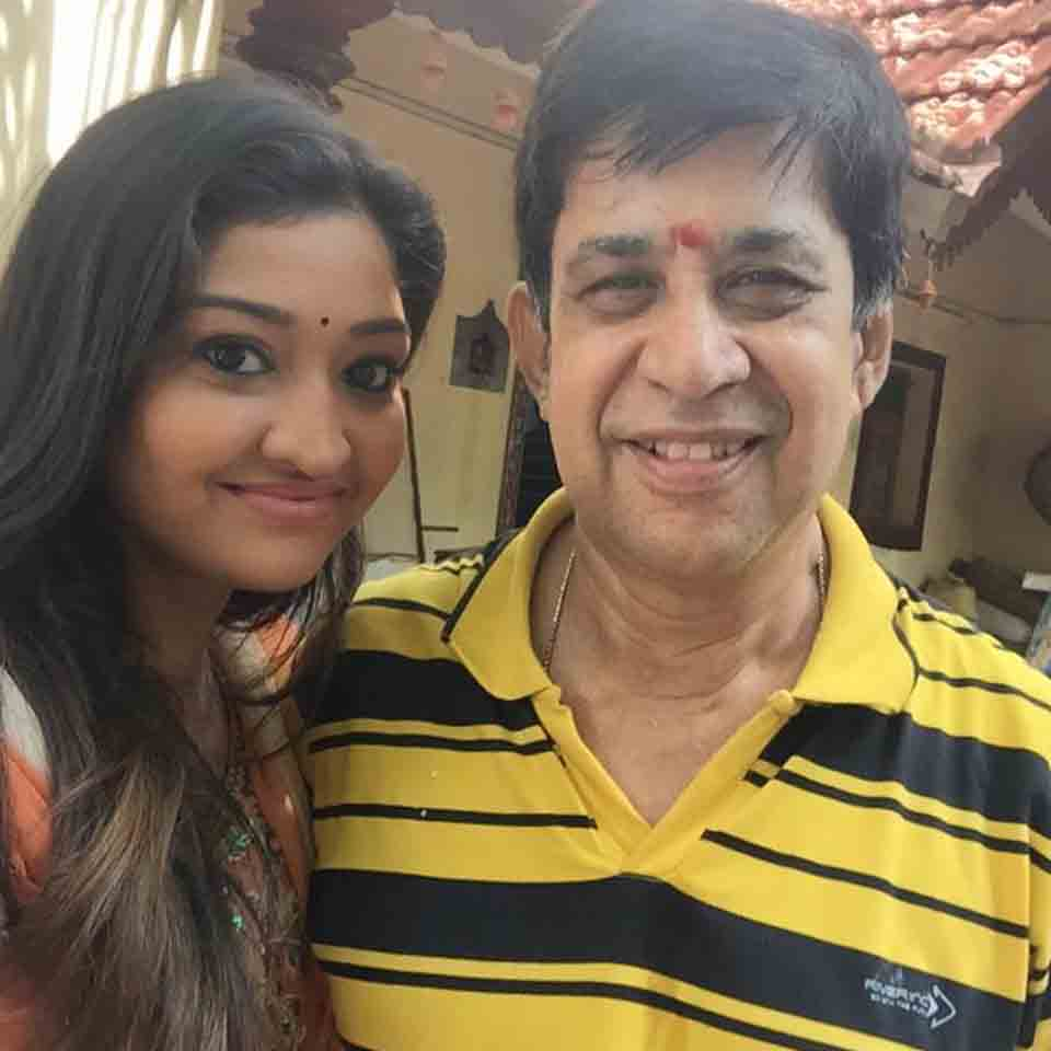 Neelima Rani with her father