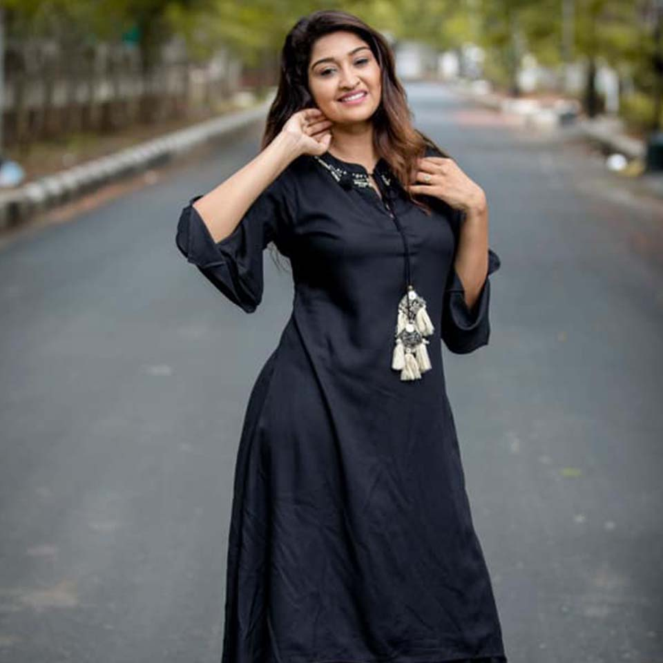 Neelima in black