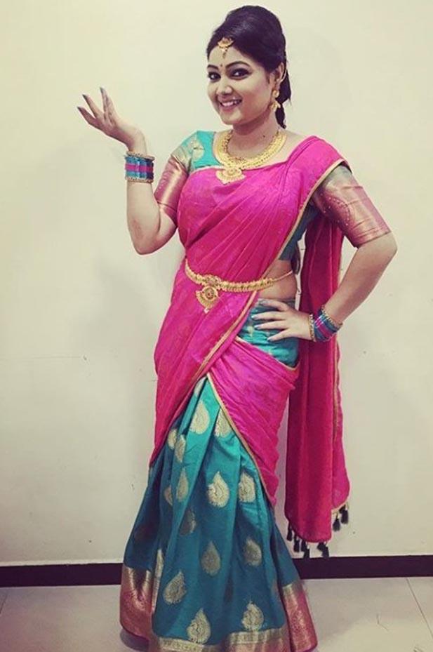 Tamil serial actress priyanka nalkar