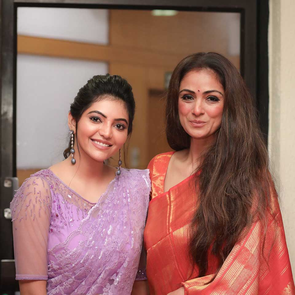 Athulya Ravi with Simran