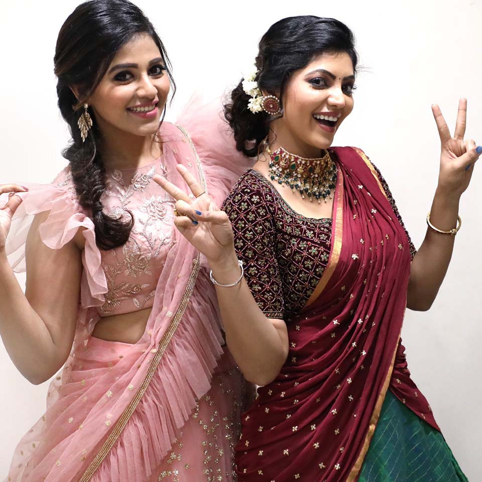 Athulya ravi and Anjali