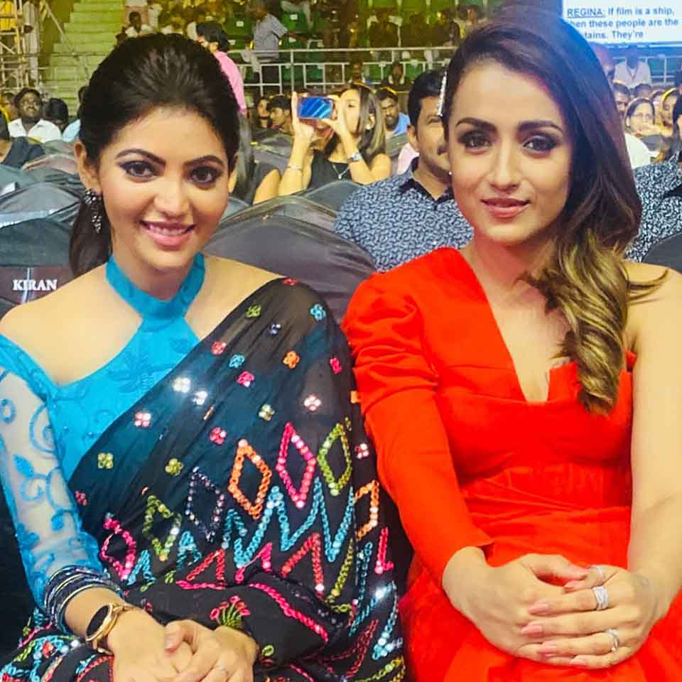 Athulya ravi and Trisha