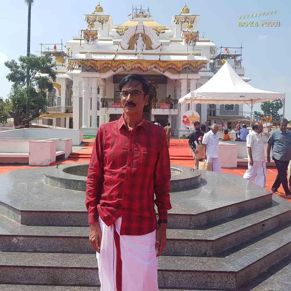 Manobala at temple
