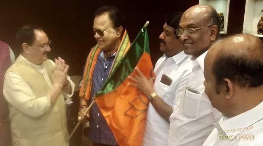 Radha Ravi joins BJP