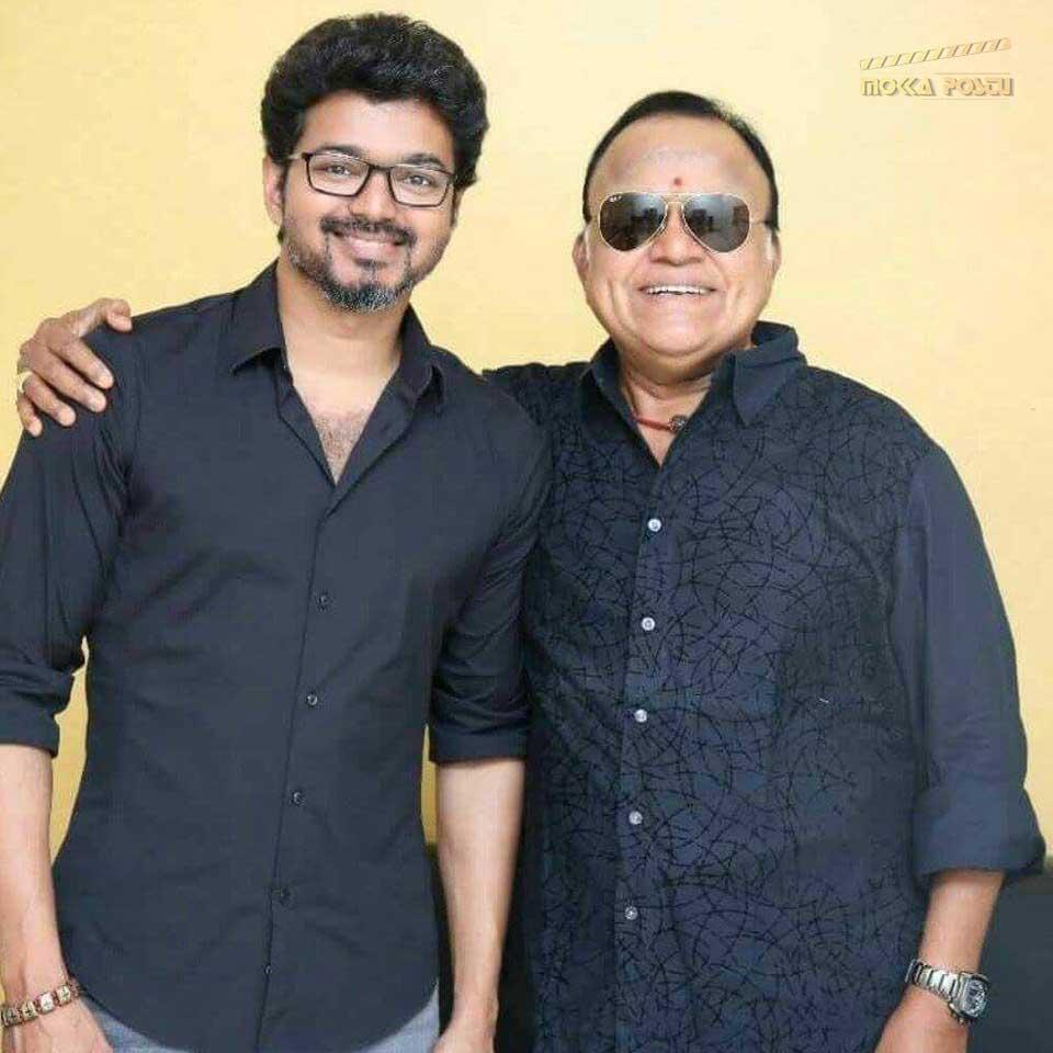 Radha ravi with vijay