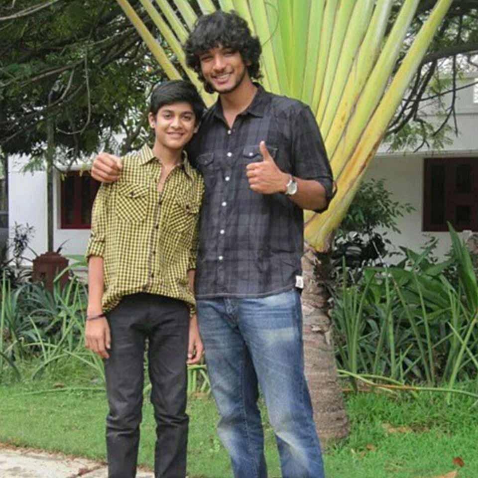 Saran Shakthi with Gautham Karthik