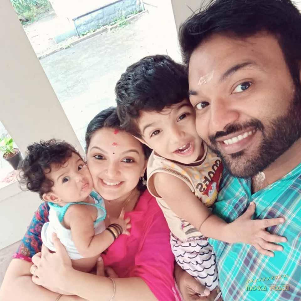 Saranya Mohan Family