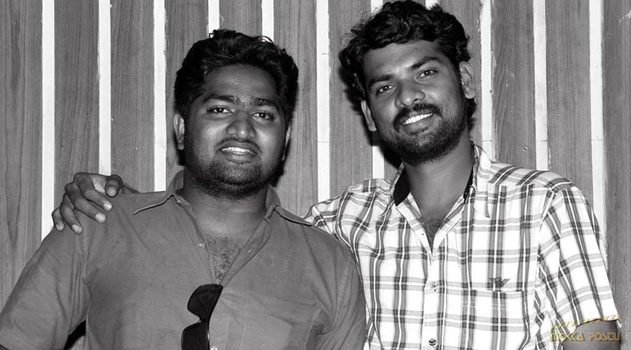 Vimal with his fan