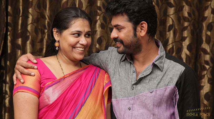 Vimal with his wife