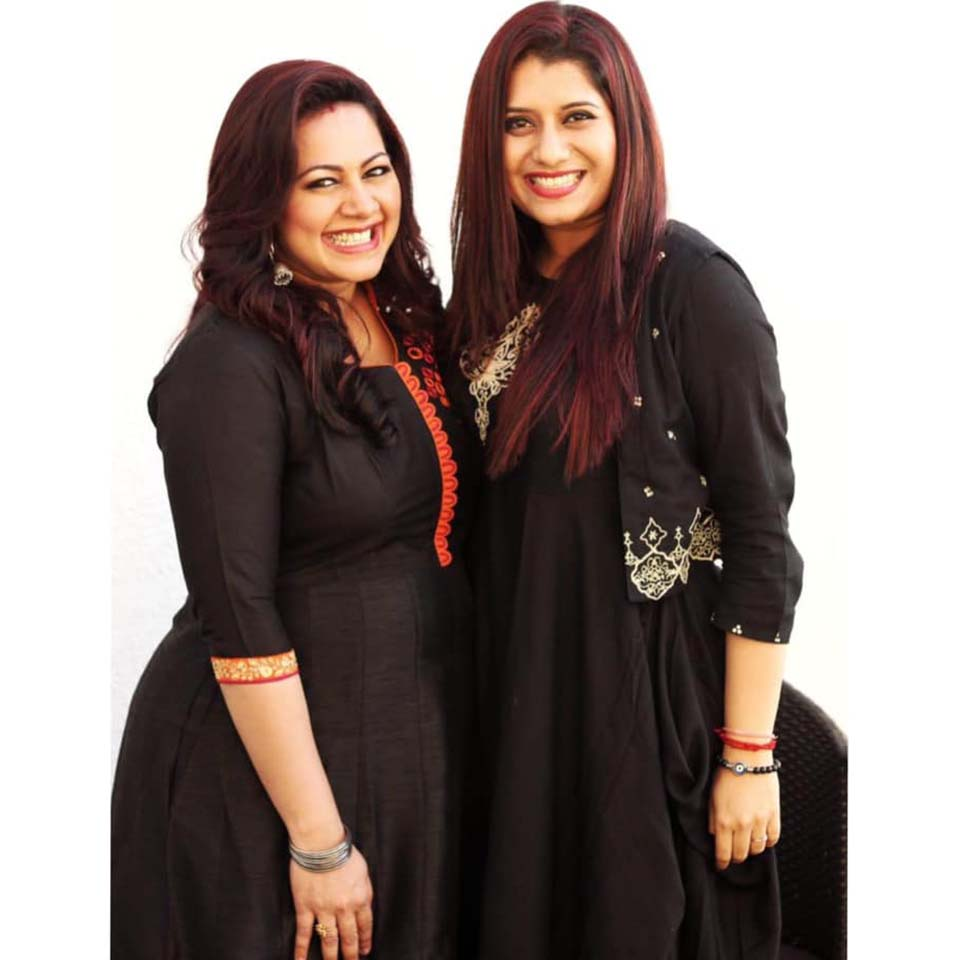 Anchor Priyanka with Anchor Archana