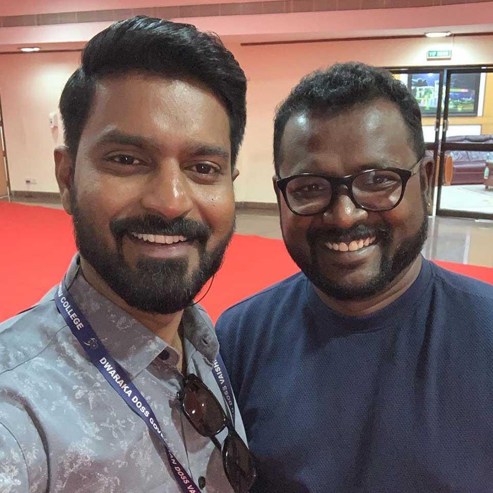 Ma Ka Pa Anand with Arun Kamaraj